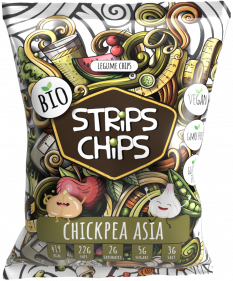 BIO STRiPS CHiPS - Chickpea Asia 90 g