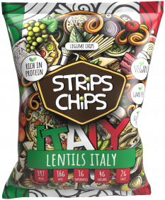 STRiPS CHiPS - Lentils Italy 90 g